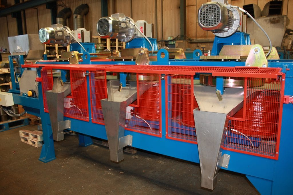3-stage Magnetic Disc Separator