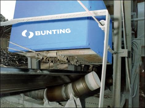 Permanent suspension magnet in industry