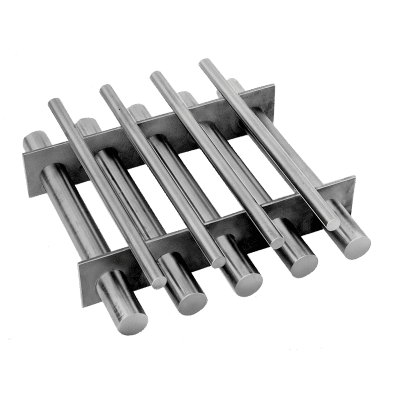 Bunting Grate Magnet with baffles