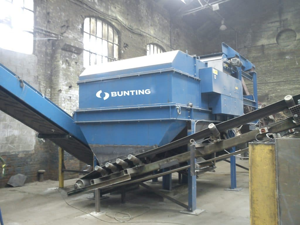 Buntings eddy current separator