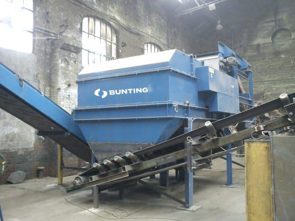 Buntings eddy current separator