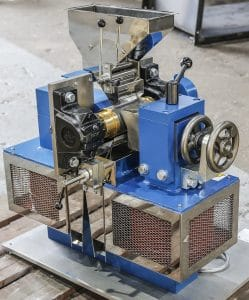 Lab sized Induced Roll Magnetic Separator