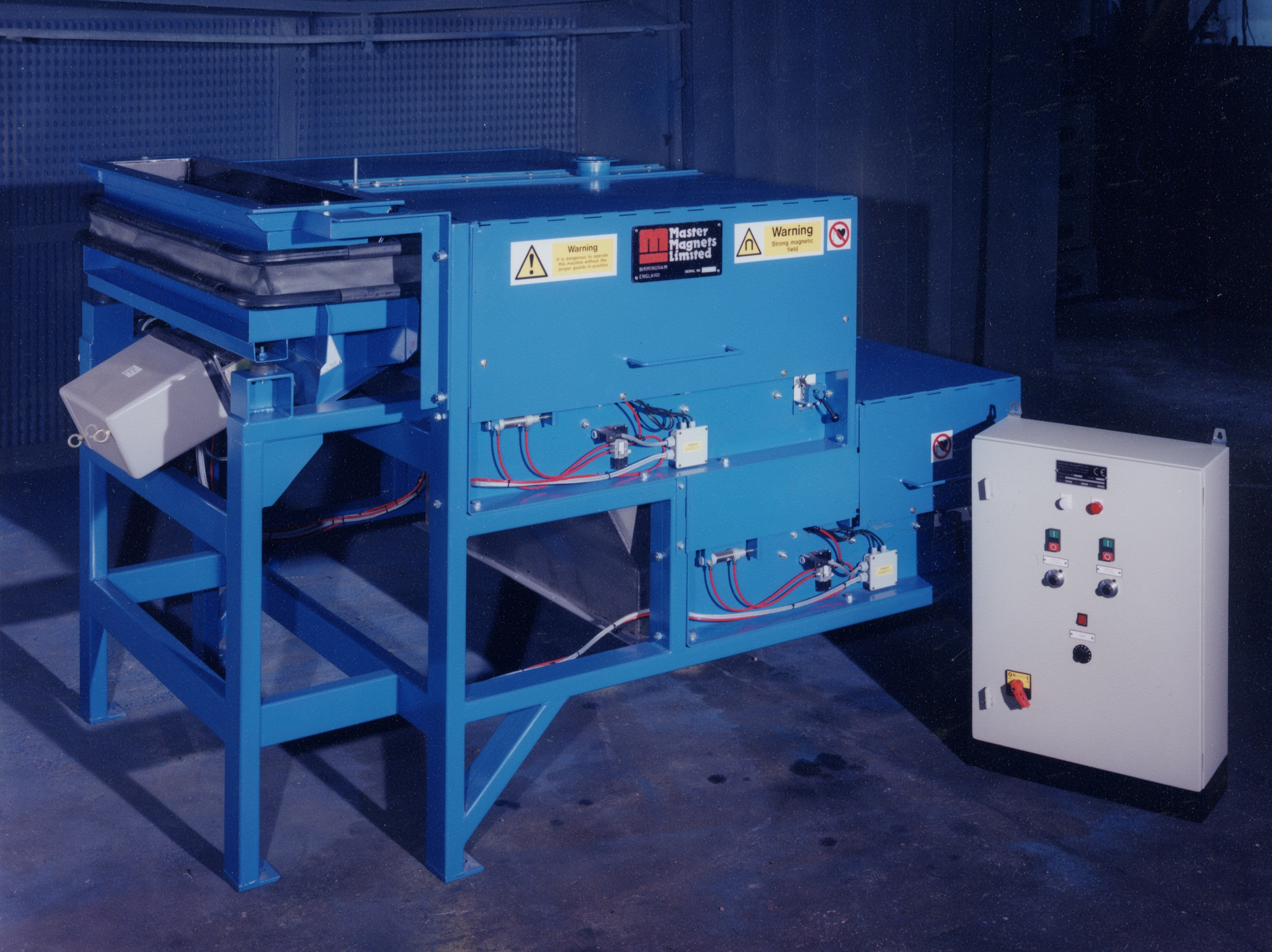 Rare Earth Roll Magnetic Separator