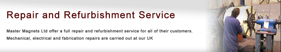 Repair and Refurbishment Service