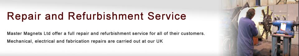 Repair and Refurbishment Service