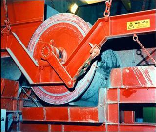 Steelworks-Slag-Processing