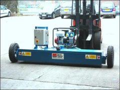 Magnetic Sweeper Machine
