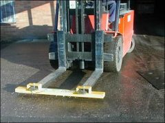 Magnetic Sweepers Forklift Truck