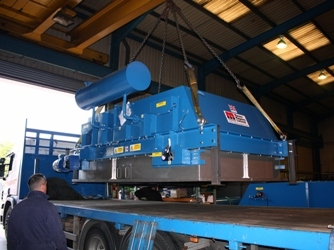 Master Magnets Electro Overband Magnetic Separator