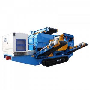 Mobile Eddy Current Separator