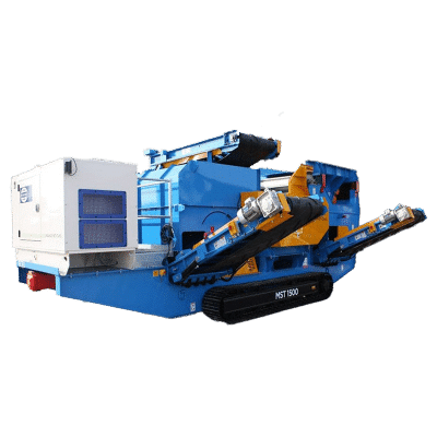 Mobile Eddy Current Separator