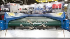 Magnetic Separators and Eddy Current Separators operating on the Bunting and Master Magnets stand at the RWM17 exhibition (Sept 17)