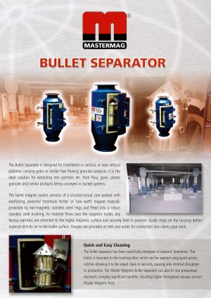 magnetic bullet separators 