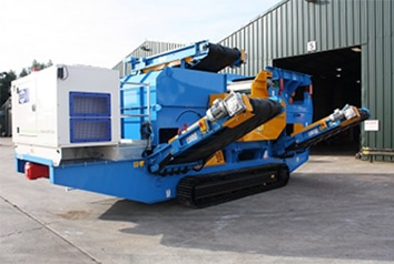 Mobile-Eddy-Current-Separator