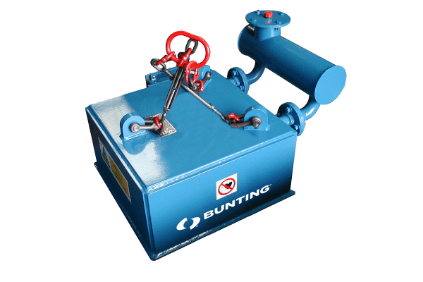 Bunting oil cooled electro suspension magnet