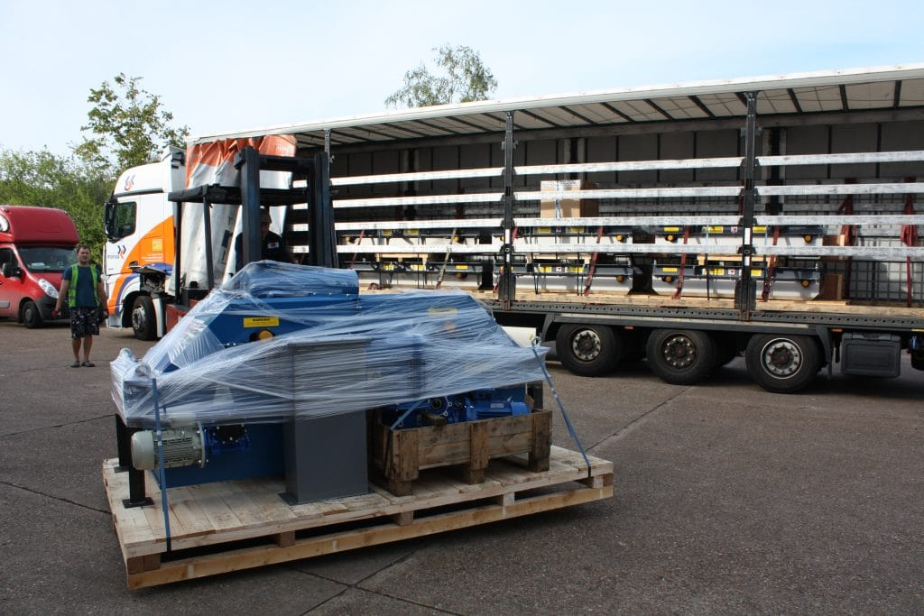 Electro Overband Magnet delivery to Bulgaria