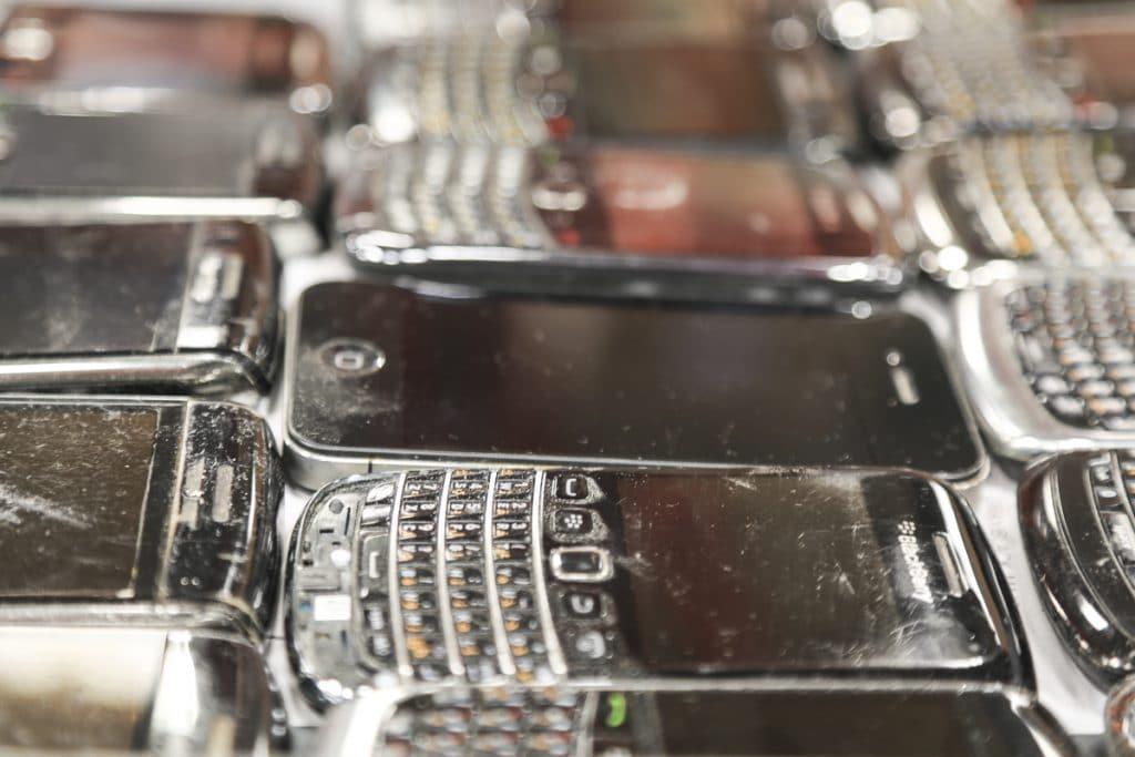 Waste phones