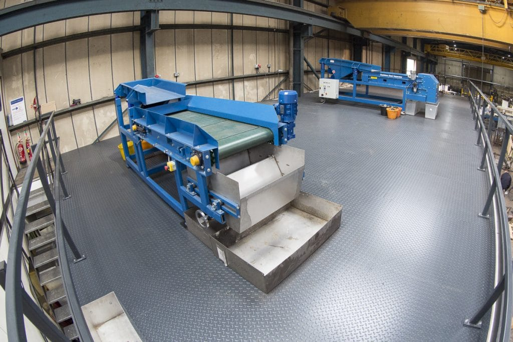 New Recycling Testing Facility