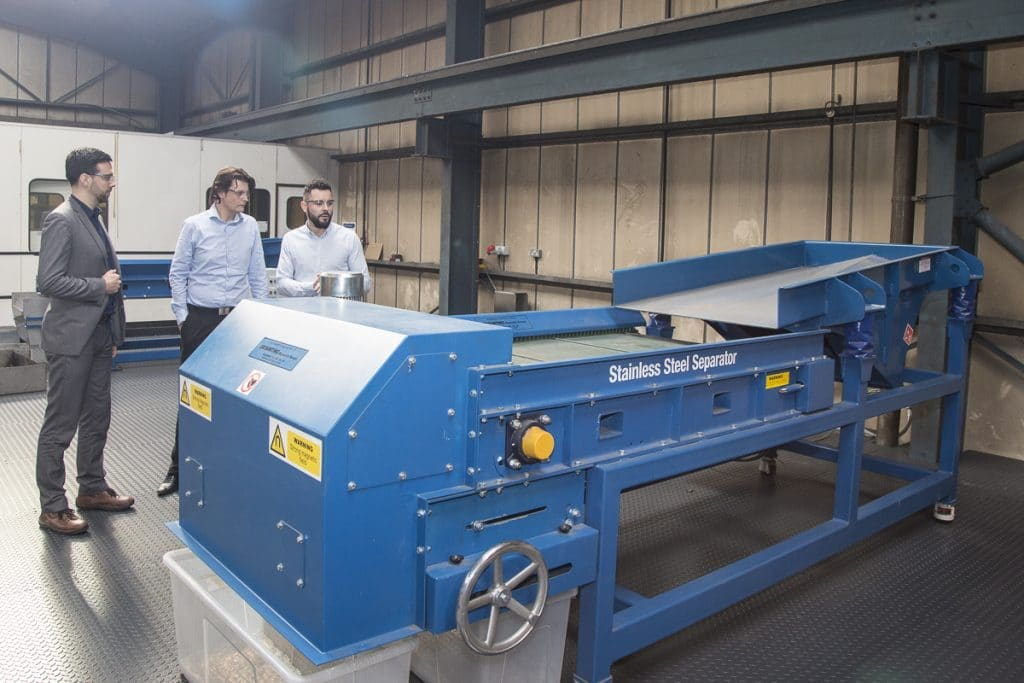 Viewing the Stainless Steel Magnetic Separator