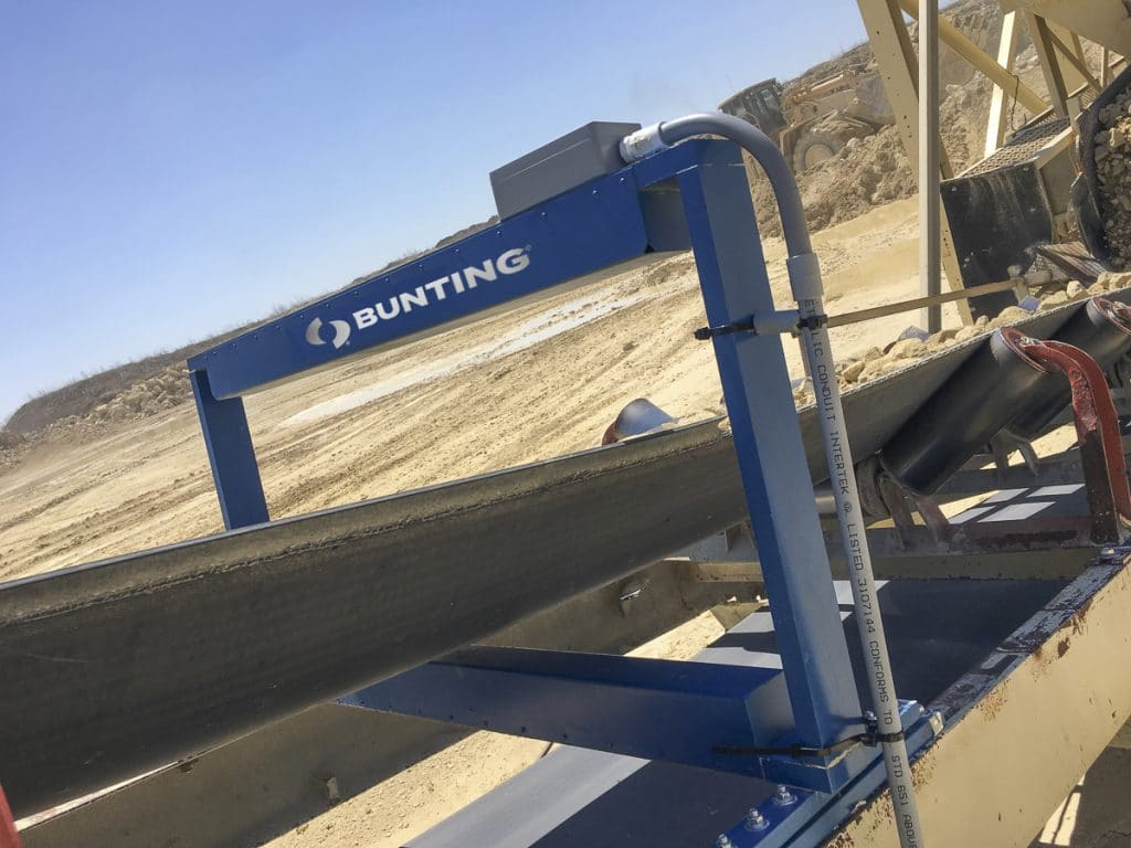American Quarries Install TN77 Metal Detectors