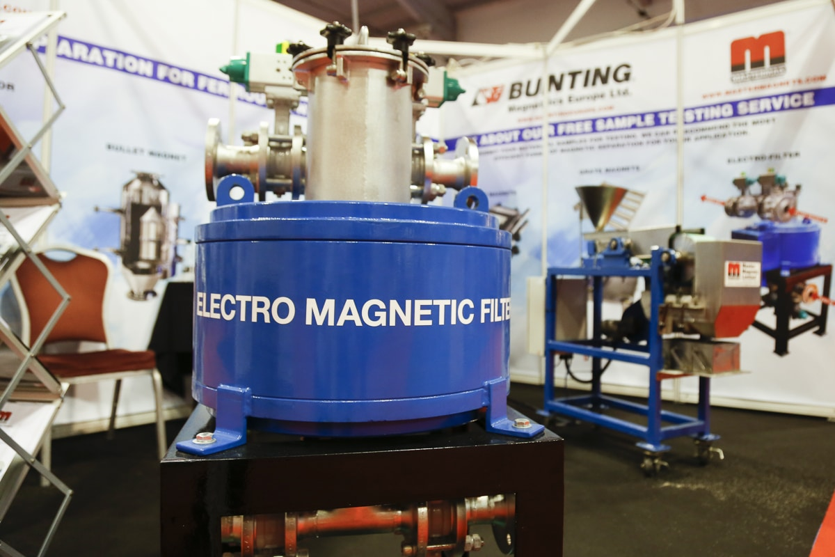 Electro Magnetic Filter at Ceramics UK 2019