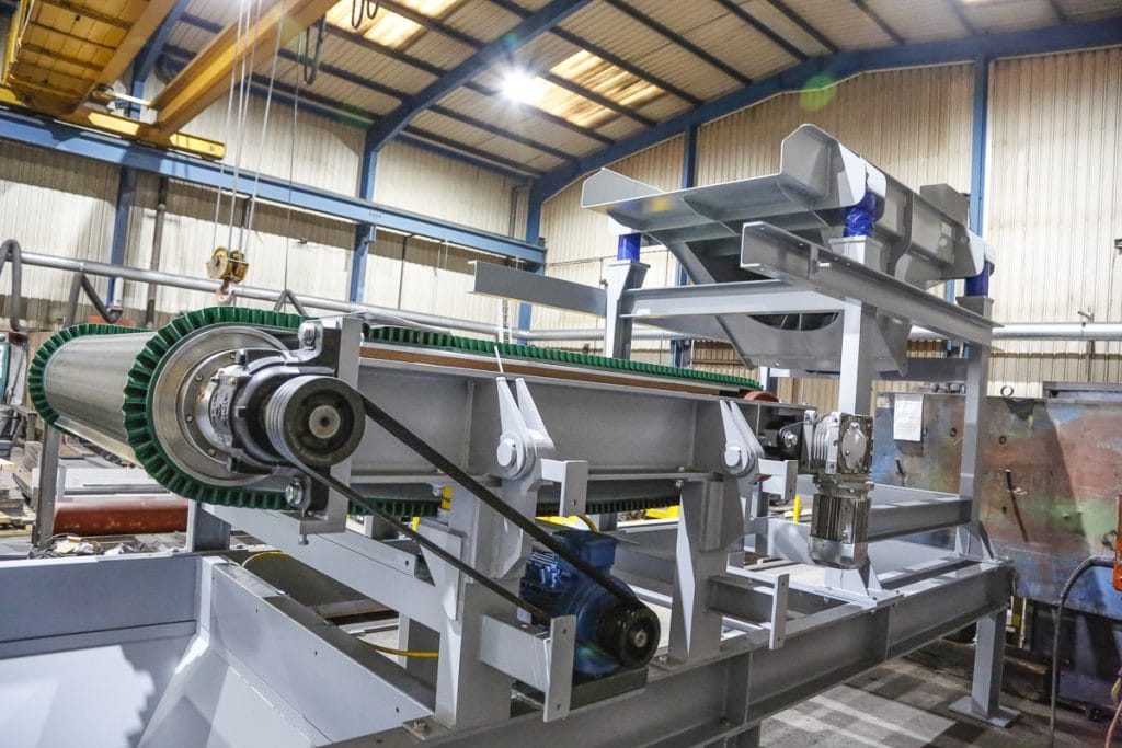 Eddy Current Separator at Master Magnets