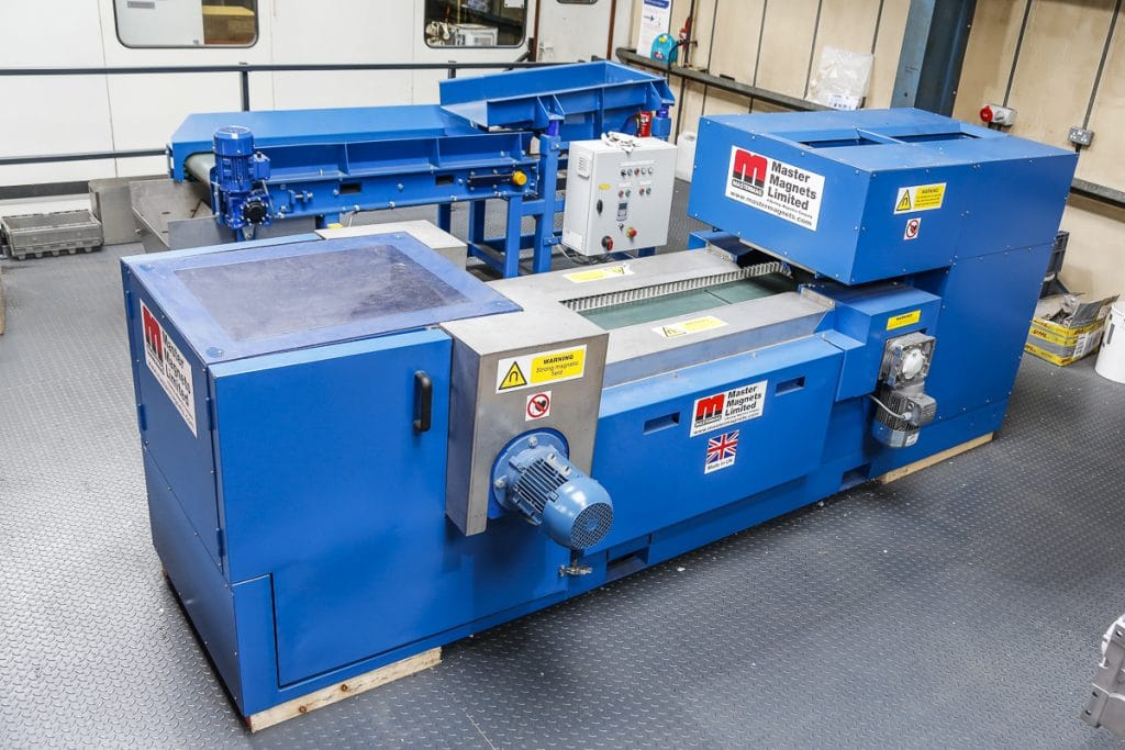 Eddy Current Separator University of Birmingham