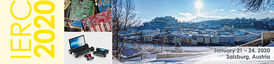 IERC 2020, 21-24 January, Salzburg, Austria