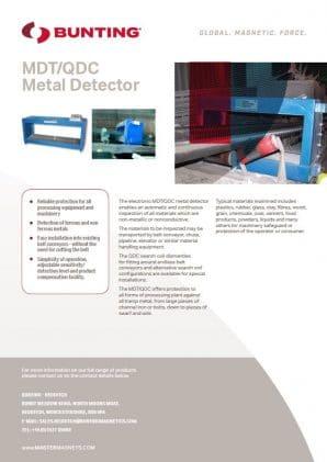 MDT/QDC Metal Detector Guide