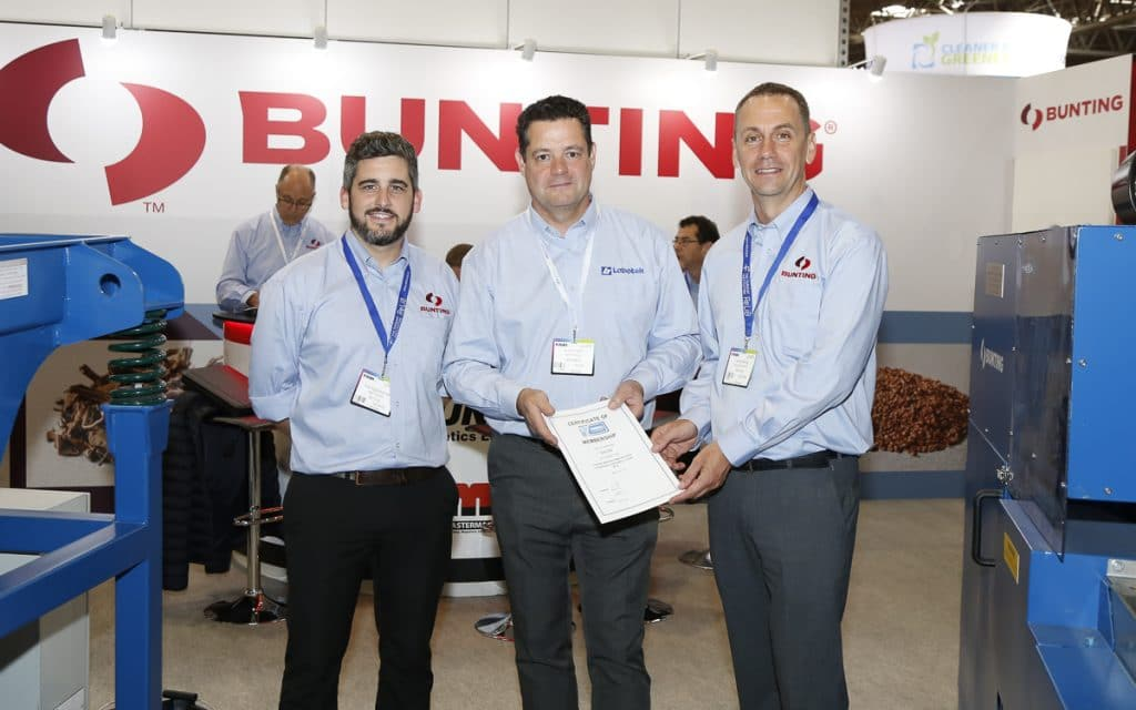 Bunting at RWM 19 Exhibition