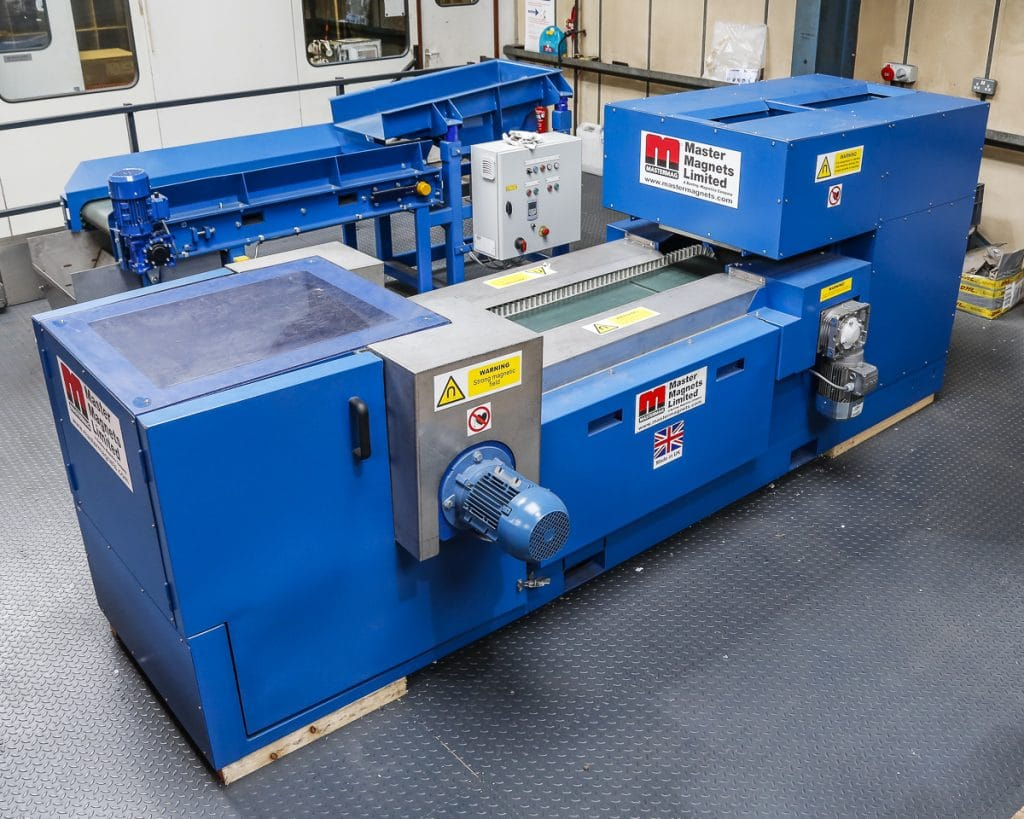 Eddy Current Separator for the university of Birmingham