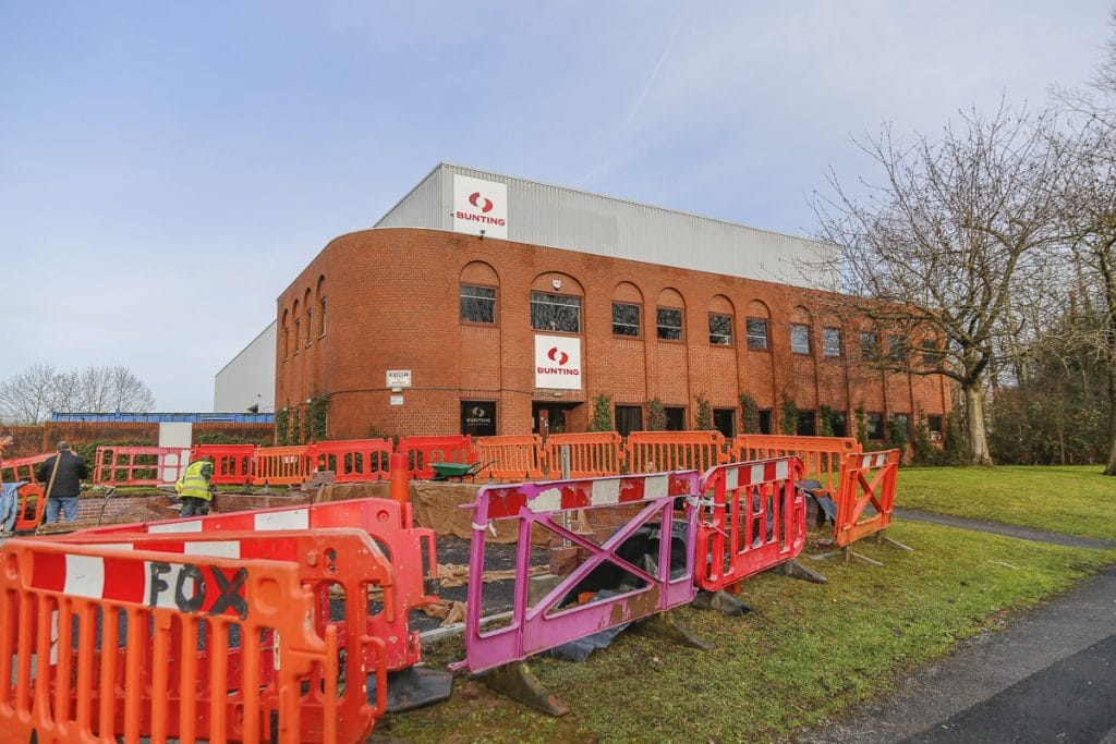 Bunting Redditch Site Expansion
