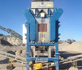 Small induced roll separators
