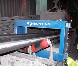 Metal detection in industry