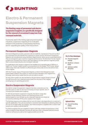 Suspension Magnets Datasheet