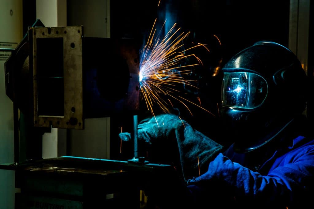 Welding at Bunting Magnetics Europe-1102
