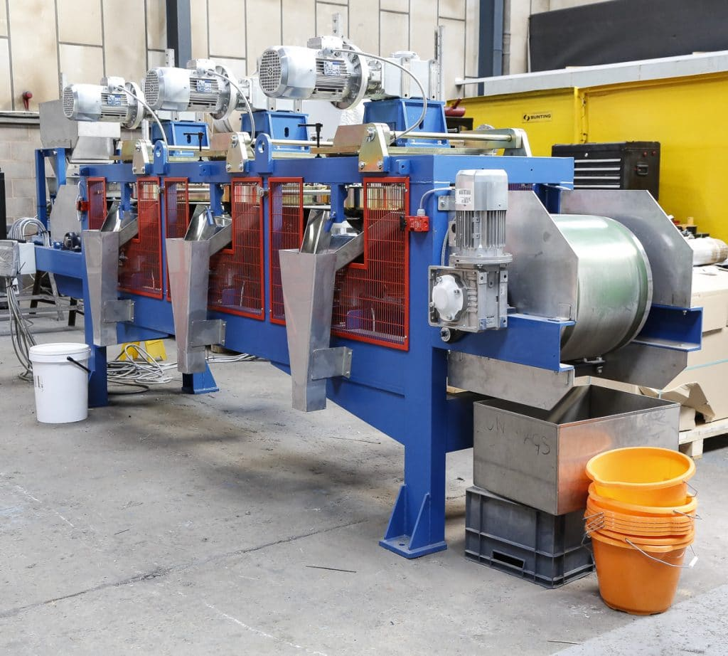 three-stage Magnetic Disc Separator