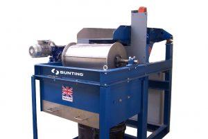 Permanent drum magnet for magnetic separation