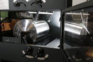 New elctrostatic separator door open