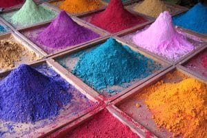 Market stall mineral in India