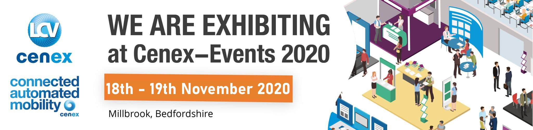 Cenex 2020, 18 - 19 November, Millbrook, Bedfordshire
