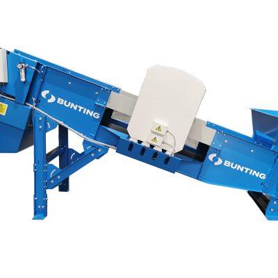 Bunting shredder feeder conveyor