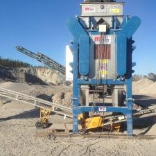 Induced Roll Magnetic Separator for mineral purification
