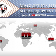 Master Magnets U.S. Agent acquired by Bunting Magnetics Co