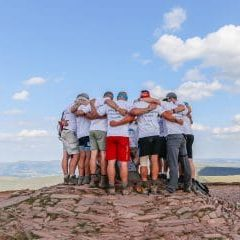 The 5th and final mountain of the #5in55 challenge for Ty Hafan